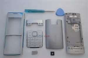 Casing Nokia N90 Non Keypad silver housing fascia cover for nokia x2 x2 00