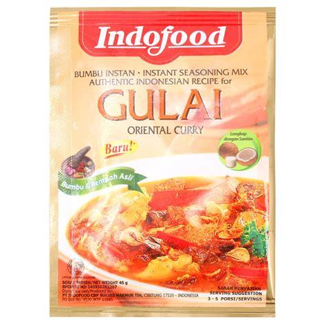 Indofood Bumbu Instan Gulai 45g indofood seasoning mix gulai 45g from buy asian food 4u