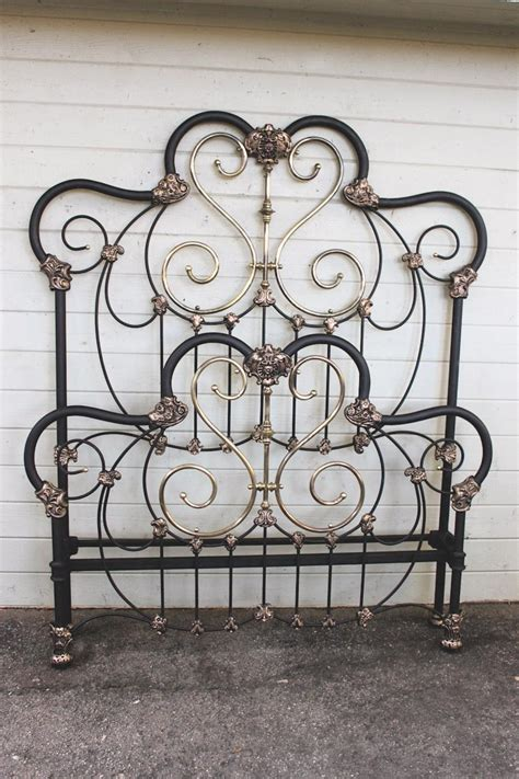 vintage iron bed photos of antique iron beds