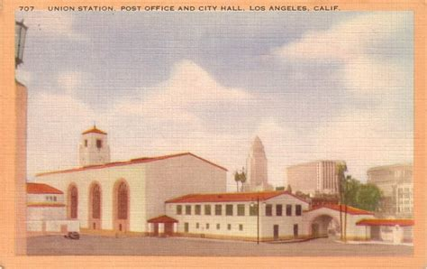 Union City Post Office by Union Station Post Office And City In Los Angeles