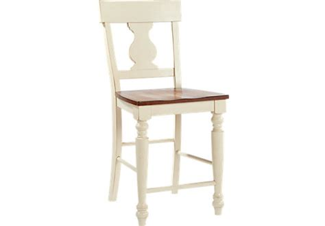 hillside cottage white counter height stool barstools colors