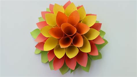How Can I Make Paper Flowers - how to make paper origami flowers paper flowers for