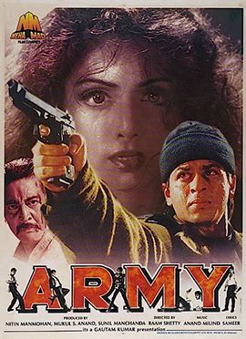 sridevi action film army 1996 film wikipedia