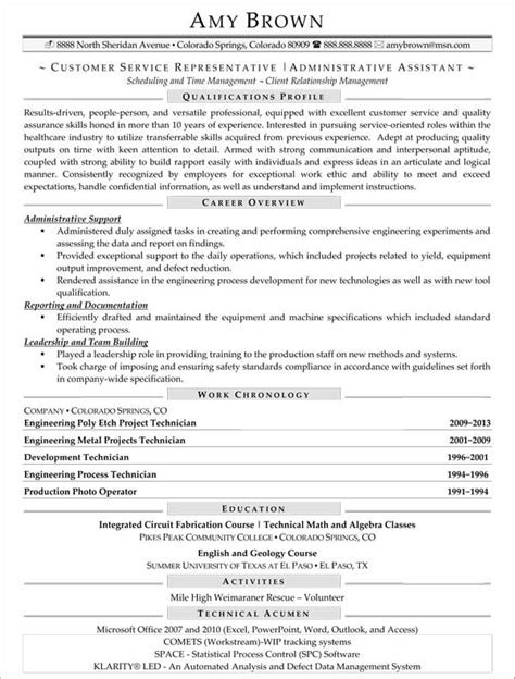 Resume Objective Exles For Customer Service Representative by Call Center Resume Exles Resume Professional Writers