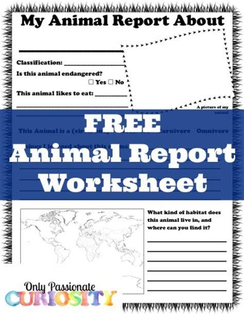 printable animal report free zoo scavenger hunt and animal report printables