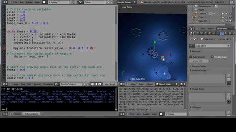 tutorial python blender blender 2 6 tutorial basic python programming part 2