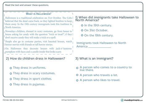 juego de preguntas para halloween halloween para ni 241 os de primaria mundoprimaria