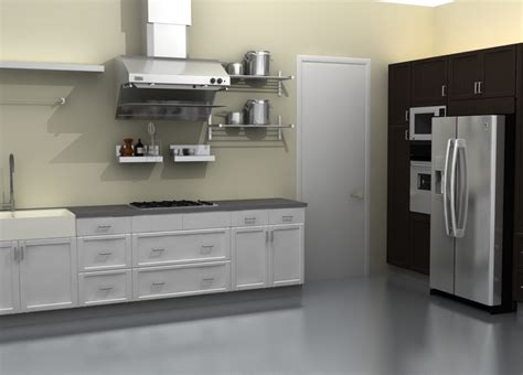 Metal Kitchen Furniture Metal Kitchen Cabinets Ikea Manicinthecity
