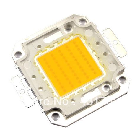 free shipping 10w 20w 30w 50w led bulb chip ic smd l light white high power led epistar chips