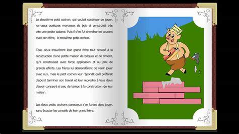 des contes tres courtes le trois petit cochons des classiques histoires courtes en fran 231 ais childtopia contes youtube