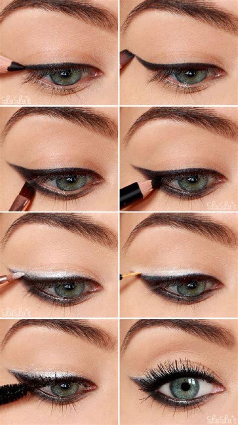 tutorial using eyeliner 12 eyeshadow makeup tutorials for blue eyed ladies