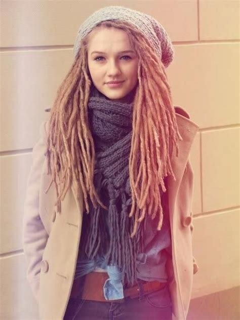 small dreadlocks on women white women with locs dreads pinterest beautiful