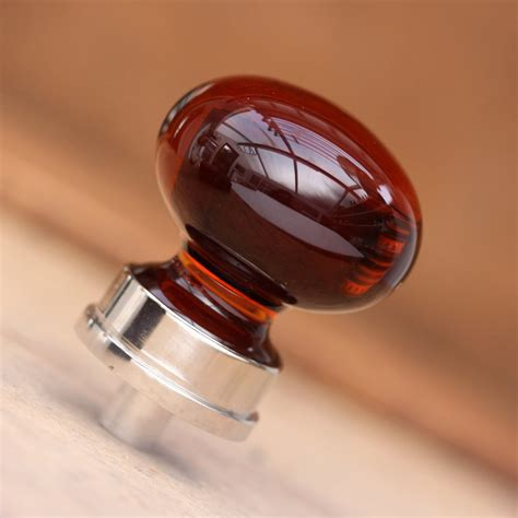 nickel glass cabinet knob