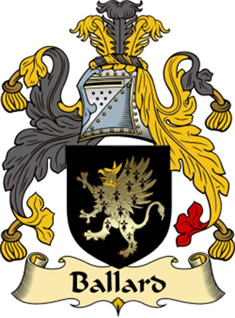 Ballards Design ballard family crest and history