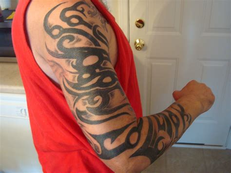 tribal dragon sleeve tattoo sleeve ideas tribal sleeve
