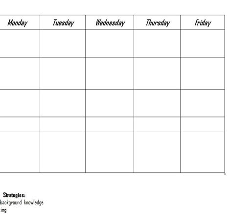 rti lesson plan template rii lesson plans