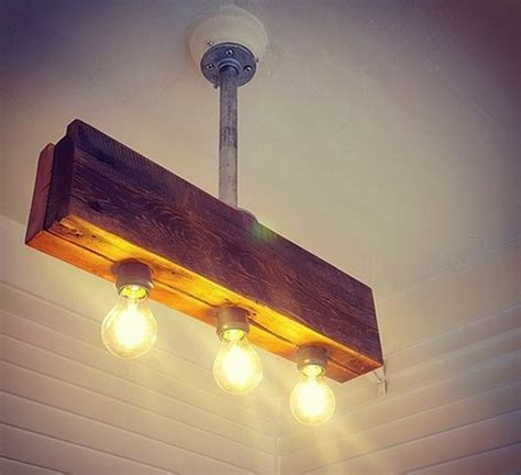 Reclaimed Wood Light Fixture by Amazing And Crafts Ideas For Home Decor Dearlinks