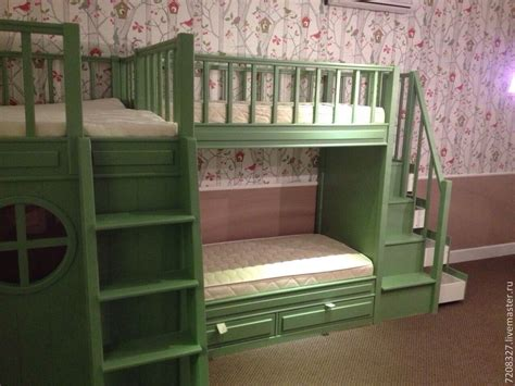 bunk bed with play area underneath 7 the bunk bed with play area shop online on livemaster