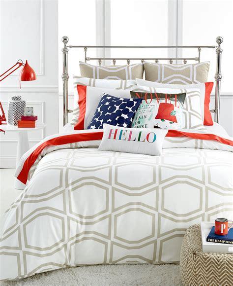 kate spade bow tile beige king comforter set shopstyle