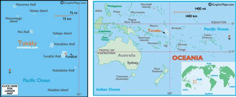 where is tokelau on the world map tuvalu map and information map of tuvalu facts figures