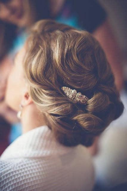 Wedding Hair Accessories Gloucestershire by Birtsmorton Court Wedding Bridal Hairstylist In