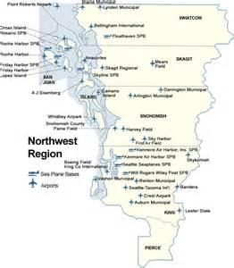 wsdot aviation airports in the northwest region