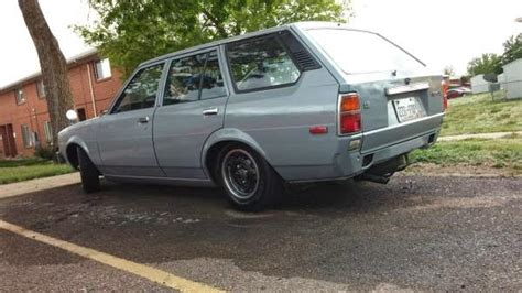 1980 Toyota Wagon 1980 Toyota Corolla Wagon Auto Restorationice