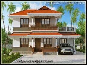 Simple Two Story House Design by Two Storey House Plan Kerala Style Simple Two Story House