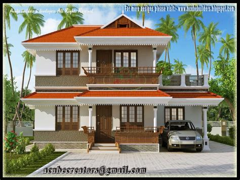 home design for kerala style two storey house plan kerala style simple two story house