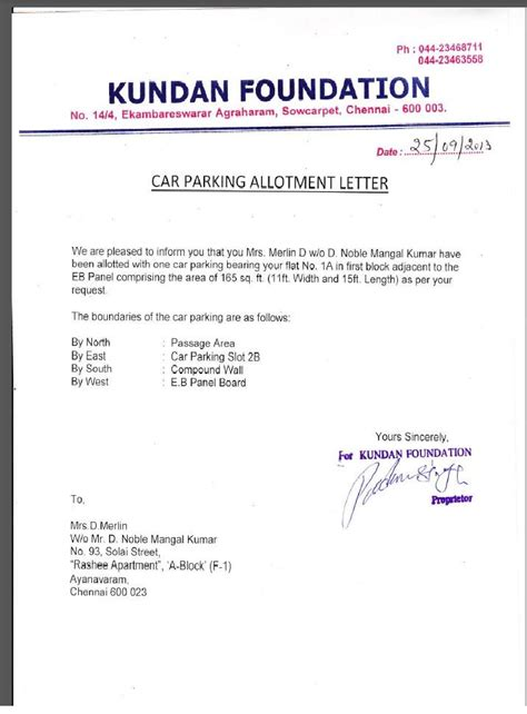 cancellation letter by builder 28 flat cancellation letter format to builder flat