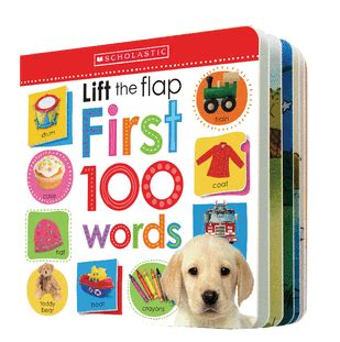 lift the flap first 100 184915936x scholastic early learners lift the flap first 100 words by
