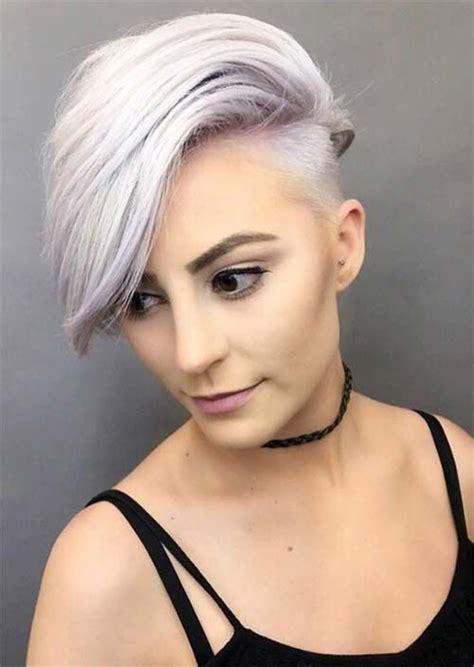 daring undercut haircuts  ladies obsigen