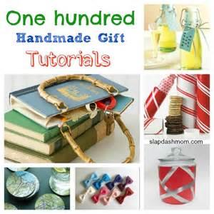 Handmade Craft Tutorials - 100 handmade gift tutorials