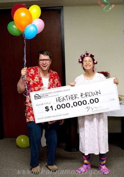 Publisher Clearing House Winners List - publishers clearing house granny winner couples halloween costumes that don t suck