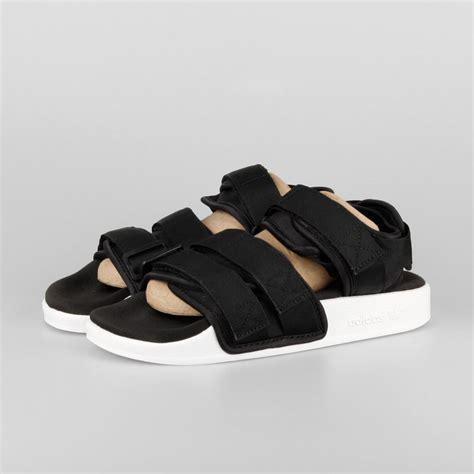 adidas adilette adidas adilette sandal w black white s75382 kix files