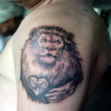 lion heart tattoo tattoos and designs page 20