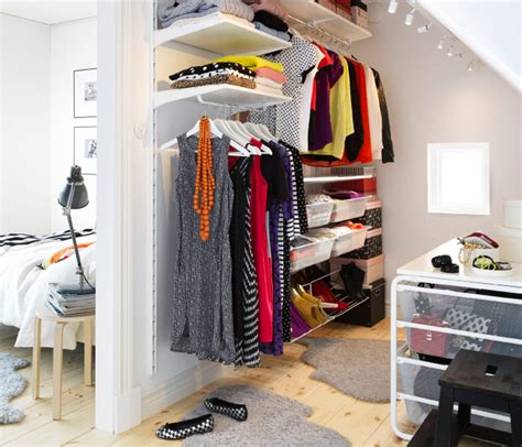 Ikea Closet Storage System by Adaptable Algot