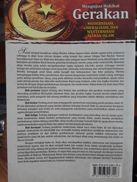 Risalah Tentang Sihir Perdukunan buku mengupas gerakan modernisasi liberalisme ajaran islam toko muslim title