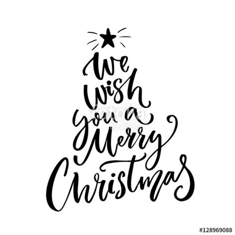 merry christmas images black  white    clipartmag
