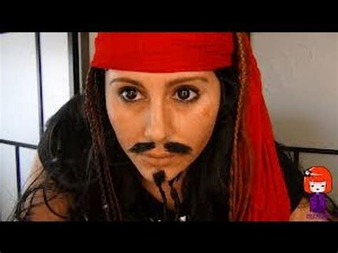 tutorial makeup jack sparrow tutorial maquillaje jack sparrow jack sparrow makeup