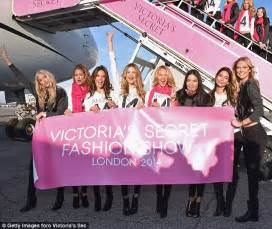 Victorias Secrets In Flight Show And Frolics by Lima And Alessandra Ambrosio Fly To For