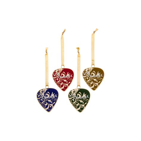 fender official christmas tree decor guitar picks ornament