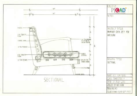 elevation of sofa category furniture science proposed sofa set for mr ivvan