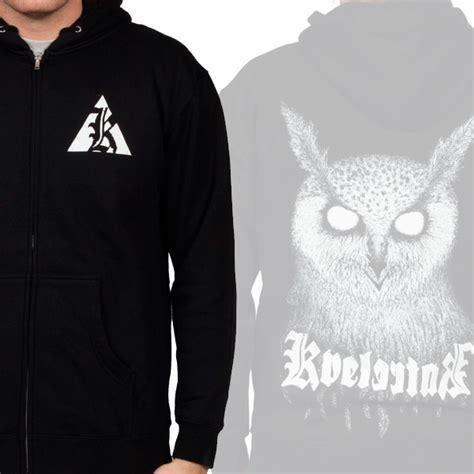 Hoodie Zipper Sweater Murah Berkualitas Owl kvelertak quot owl quot zip hoodie kvelertak