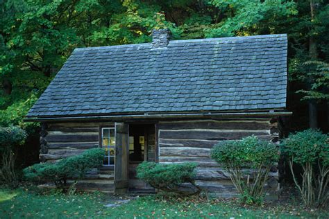 Born In A Log Cabin by American Presidents Born In Log Cabins Log Home Living
