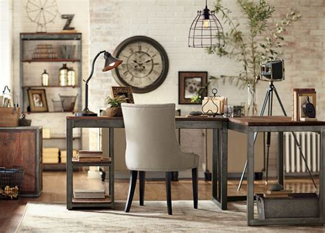 Industrial Office Decor by Industrial Office For The Home