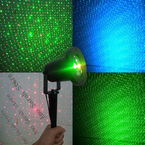 Landscape Laser Lights Mini Blue Green Rgb Waterproof Outdoor Laser Firefly Light Projector Landscape Outdoor Laser