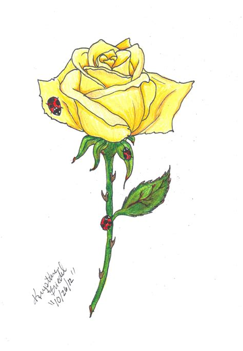 yellow roses tattoos yellow commission for drawings