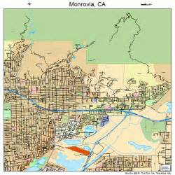 monrovia california map monrovia california map 0648648