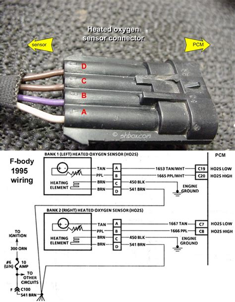 94 k1500 o2 sensor wiring diagram chevy light wiring
